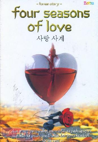 Cover Buku Four Seasons of Love