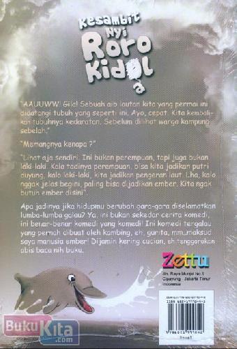 Cover Belakang Buku Kesambit Nyi Roro Kidal