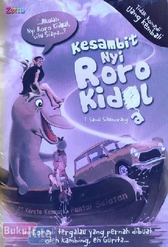 Cover Buku Kesambit Nyi Roro Kidal