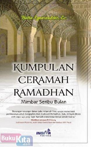 Cover Buku Kumpulan Ceramah Ramadhan : Mimbar Seribu Bulan