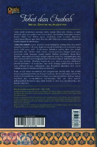 Cover Belakang Buku Tobat dan Inabah
