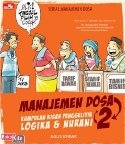 Cover Buku MANAJEMEN DOSA 2 - Kumpulan Kisah Penggelitik Logika dan Nurani