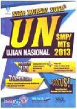 Cover Buku Siap Kuasai Soal-soal (SKS) UN SMP/MTs 2013