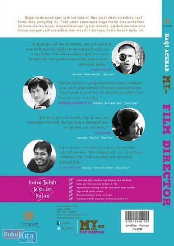 Cover Belakang Buku My Life As Film Director