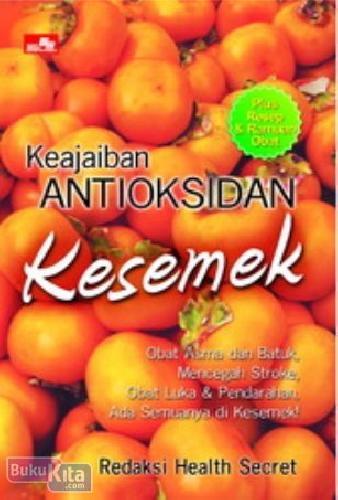 Cover Buku Keajaiban Antioksidan Kesemek