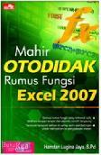 Mahir Otodidak Rumus Fungsi Excel 2007
