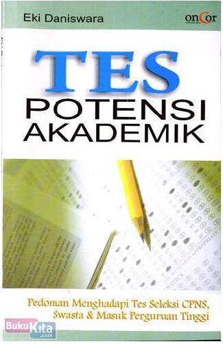 Cover Buku Tes Potensi Akademik