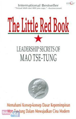 Cover The Little Red Book Leadership Secret of MAO TSE-TUNG
