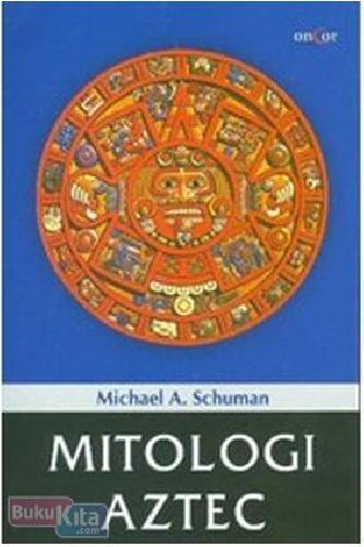 Cover Buku Mitologi Aztec