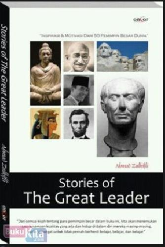 Cover Buku Stories of The Great Leader