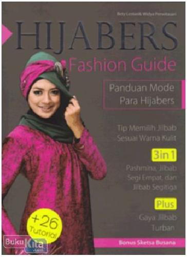 Cover Buku Hijabers Fashion Guide (Disc 50%)