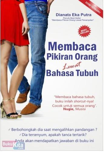 Cover Buku Membaca Pikiran Orang Lewat Bahasa Tubuh