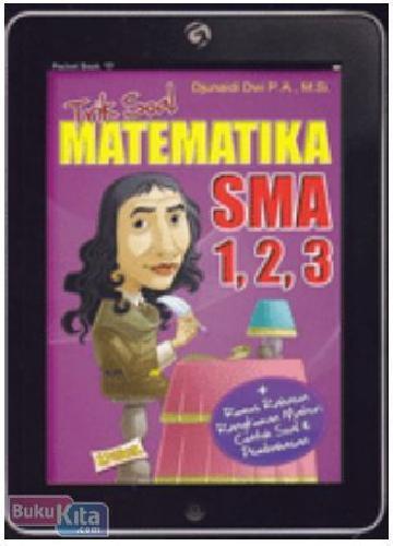 Cover Buku Trik Soal Matematika SMA 1, 2, 3