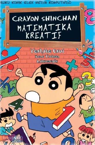 Cover Buku Crayon Shinchan Matematika Kreatif (Disc 50%)