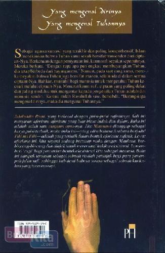 Cover Belakang Buku Yang Mengenal Dirinya Yang Mengenal Tuhannya