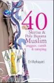 40 Sketsa Dan Pola Busana Muslim Anggun, Cantik Dan Ramping