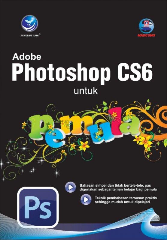 Cover Buku Adobe Photoshop CS6 Untuk Pemula