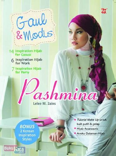 Cover Buku Gaul & Modis Pashmina (Disc 50%)