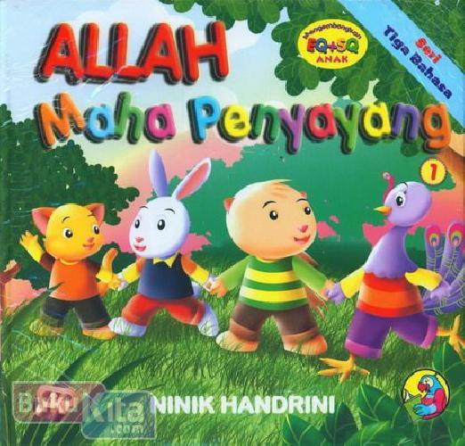 Cover Buku Allah Maha Penyayang (Seri Tiga Bahasa)