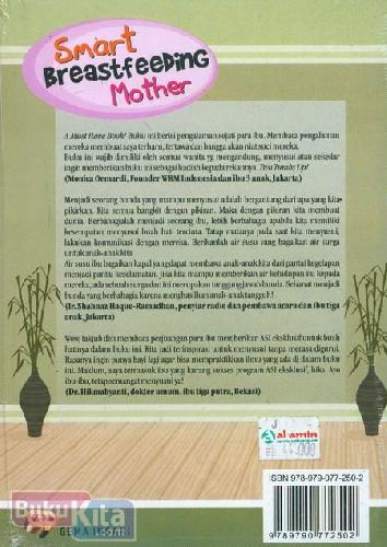 Cover Belakang Buku Smart Breastfeeding Mother : Cara Pintar Ibu Menyusui
