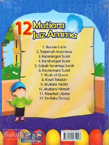 Cover Belakang Buku 12 Mutiara Juz Amma
