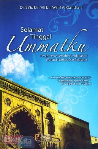 Cover Buku Selamat Tinggal Ummatku