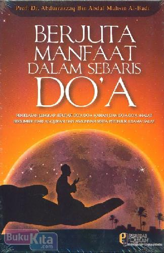 Cover Buku Berjuta Manfaat Dalam Sebaris Doa
