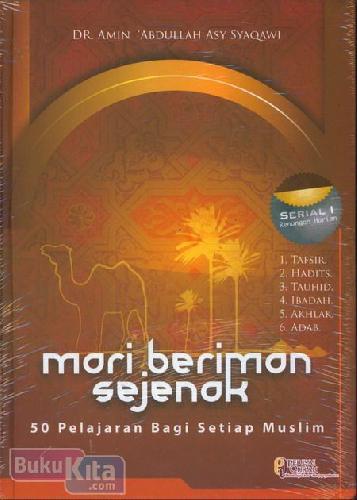 Cover Buku Mari Beriman Sejenak
