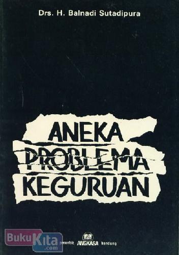 Cover Buku Aneka Problema keguruan