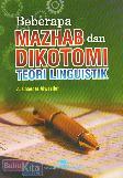 Beberapa Mazhab dan Dikotomi - Teori Linguistik
