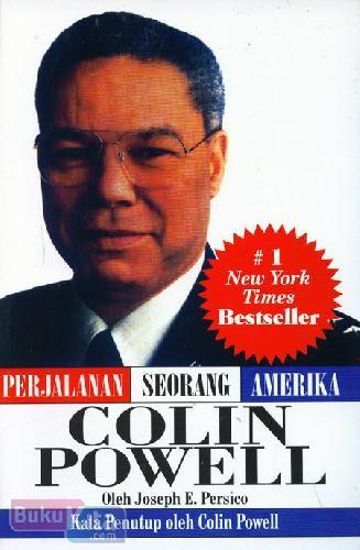 Cover Buku Colin Powell - Perjalanan Seorang Amerika