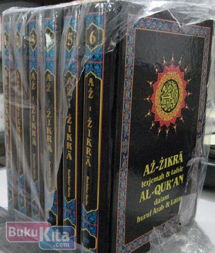 Cover Buku AZ-ZIKRA terjemahan & tafsir AL-QUR