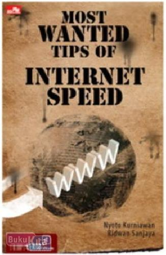 Cover Buku Most Wanted Tips of Internet Speed