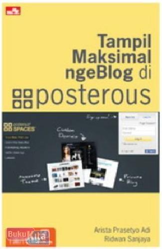 Cover Buku Tampil Maksimal ngeBlog di Posterous