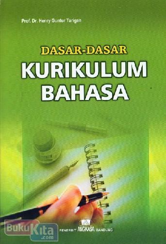 Cover Buku Dasar-Dasar Kurikulum Bahasa (Edisi Revisi)