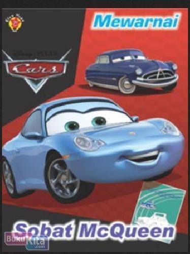 Buku Mewarnai Cars Sobat Mcqueen Toko Buku Online Bukukita