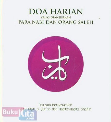 Cover Buku Doa Harian Yang Dianjurkan Para Nabi Dan Orang Saleh