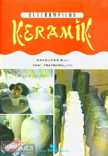 Cover Buku Keterampilan Keramik