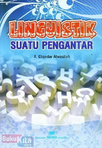 Cover Buku Linguistik Suatu Pengantar
