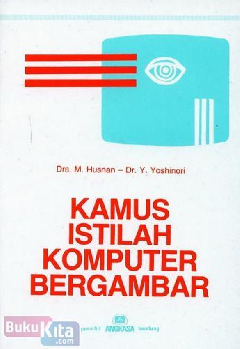Cover Buku Kamus Istilah Komputer Bergambar