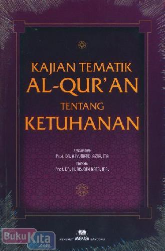 Cover Buku kajian Tematik Al-Quran Tentang Ketuhanan