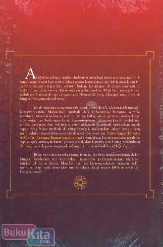 Cover Belakang Buku kajian Tematik Al-Quran Tentang Kemasyarakatan