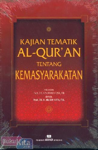 Cover Buku kajian Tematik Al-Quran Tentang Kemasyarakatan