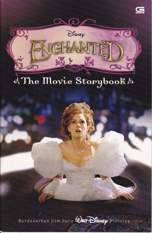 Cover Buku Enchanted : The Movie Storybook