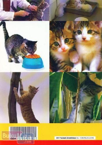 Cover Belakang Buku Mempelajari Perilaku Kucing Binatang Rumah Yang Setia