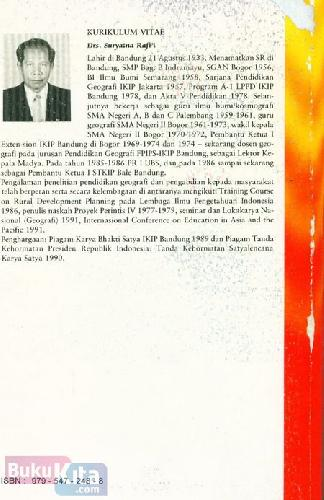 Cover Belakang Buku Meteorologi dan Klimatologi