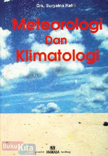 Cover Buku Meteorologi dan Klimatologi
