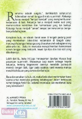 Cover Belakang Buku Setitik Embun Surga