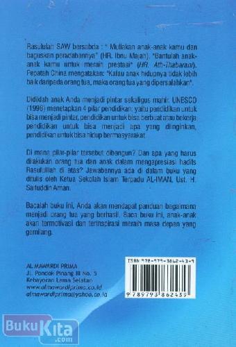 Cover Belakang Buku 8 Pesan Lukman Al-Hakim