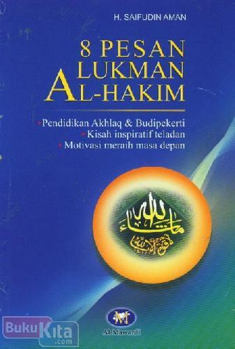 Cover Buku 8 Pesan Lukman Al-Hakim